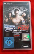 WWE SmackDown vs. Raw 2010 - THQ - Sony PSP / PlayStation Portable - 2009