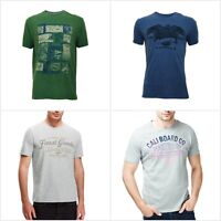 Fa M Ou S High St Store Men's North Coast Pure Cotton T-Shirts Various Styles