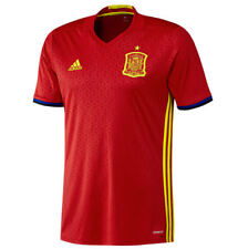 Spain Home Football Shirt - Official adidas UEFA Jersey Red Top Small Mens NEW