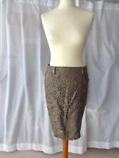 WIE NEU!! Designer Rock MARC CAIN gr N1 34 (F: 36; IT 40) gonna jupe skirt luxus