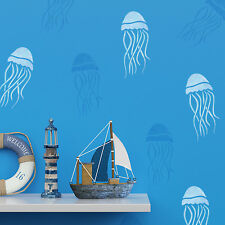 CraftStar Jellyfish Stencil - Sea Themed Craft, Tile or Wall Decor Stencil