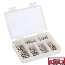 TOLEDO Stainless Steel Grease Nipple Set Metric 305378