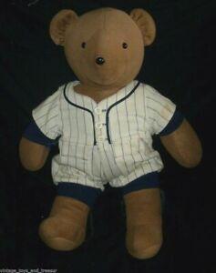 "20"" VINTAGE 1979 ALBERT BASEBALL TEDDY BEAR RUTH STUFFED ANIMAL PLUSH TOY NORTH"