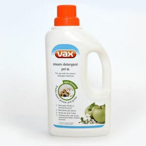 Vax Pet Steam Detergent Hard Floor Cleaner Apple Blossom 1L 1-9-132813-01