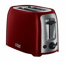 Russell Hobbs 23861 Darwin 2 fette, ROSSO *** Nuovo ***