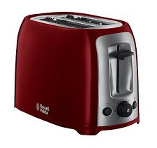 RUSSELL HOBBS 23861 DARWIN 2 SLICE TOASTER, RED  ***BRAND NEW***