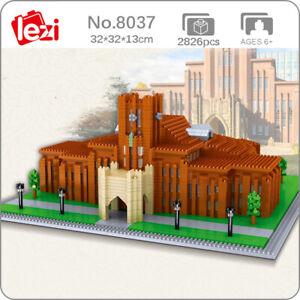 Lezi World Architecture Tokyo University School Mini Diamond Blocks Building Toy