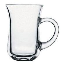 Pasabahce - Set Of 6 Cups With Handles Glass Tea & Coffee Glassware Mugs