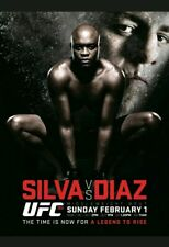 UFC 183 Anderson Silva vs Nick Diaz Sports Poster 27x39 Used condition