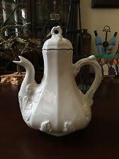 Vintage Red Cliff Ironstone Pitcher w/ Lid