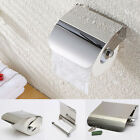 WC Stainless Steel Bathroom Toilet Paper Holder Tissue Roll Bar NEW Wall Mounted