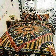 Indian Queen Size Duvet Mandala Quilt Cover Bedding Set Doona Cover Hippie Boho