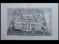 L'ARCHITECTURE N°46 1901 - CHARLES CHIPIEZ, ECOLE NATIONALE D'ARMENTIERES