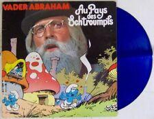 Peyo 33 tours Schtroumpfs Vader Abraham Disque Bleu