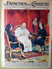 La Domenica del Corriere 3 Maggio 1959 Regina Inghilterra Papa Giovanni XXIII