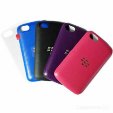 Blue Rigid Plastic Cases & Covers for BlackBerry