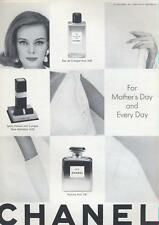 1964 Chanel No 5 Perfume PRINT AD for Mother's Day and Every Day great decor