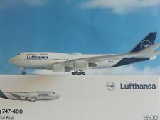 Herpa Wings 1:500 532761 Lufthansa Boeing 747-400 - new 2018 colors Herpa Wings