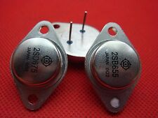 1 PAIR 2SD675 / 2SB655 D675 B655 Audio Power Transistor TO-3 New