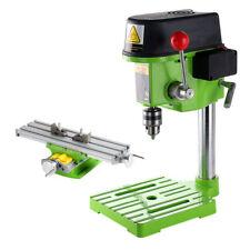 220V Mini High-speed Bench Drill Drilling PCB PVC Milling Machine + Workbench