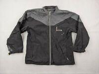 Dub Brand Jacket Adult XL Men Black Gray Snowboard Ski Windbreaker Lightweight