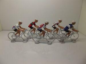 philippe gilbert cycling figurines set miniature BMC Quickstep
