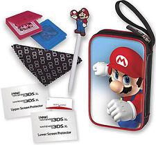 Nintendo New 2DS XL Essential Mario Pack Mario Tasche Zubehör Case New 3DS XL