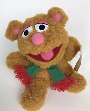 "Baby Fozzie Bear Vintage 1988, 8"" Plush Stuffed Animal Muppets Mc Donald's w/Tag"