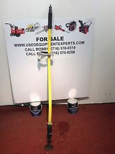 Used EDCO 5 ft Air Ram Straight Chisel Scaler Chipping Hammer Grinder Stripping