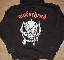 Hoodie - Motorhead - Warpig - Heavy Weight Sweatshirt - Black - logo/pig - NEW L