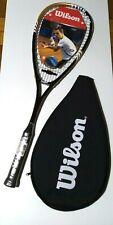Raqueta Wilson Blade squash con Cubierta Negro Oro Hoja Comp Nuevo