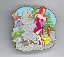 Disney Shopping Snowman Series Jessica Rabbit with Snow Lady in her Image Pin