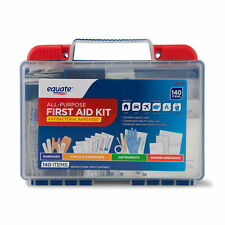 Equate 566904301 All-purpose First Aid Kit 140 Items