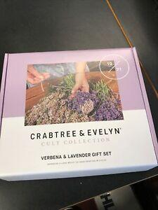 Crabtree & Evelyn Cult Collection Verbena & Lavender Hand Cream & 2x Shower Gel