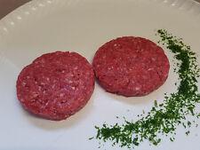 (19,98€/kg) 4 x 150 g Wildschwein - Hamburger, Burger, Wildfleisch, Wild, Grill