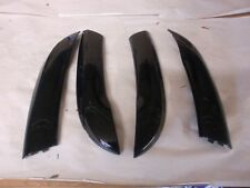 caches noir de panneaux de portes de Citroën c3 5 portes, 9686764577 (réf 6222 )