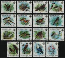 Äußere Seychellen 1983 - Mi-Nr. 50-65 ** - MNH - Vögel / Birds (II)