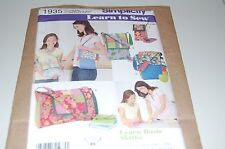 Simplicity Pattern # 1935 - Four Styles Patchwork Quiting Bags / Purse - NEW