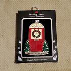 Harvey Lewis 2019 Christmas Tree Ornament Swarovski Crystals Glows In The Dark