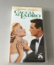 VINTAGE# VHS  CACCIA AL LADRO TO CATCH A THIEF HITCHCOCK CARY GRANT GRACE KELLY#