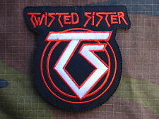M151 ECUSSON PATCH toppa aufnaher THERMOCOLLANT TWISTED SISTER musique / 8.9X9cm