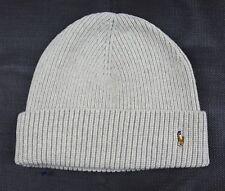 $42 Men's Polo Ralph Lauren Merino Wool Cuff Hat Beanie Toboggan Oatmeal 236