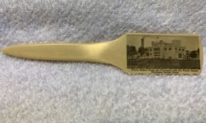 THOMPSON MALTED PRODUCTS Celluloid Letter Opener, Waukesha