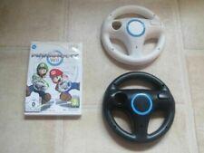 Nintendo Wii Mario Kart Bundle (Spiel + 2 Lenkräder)