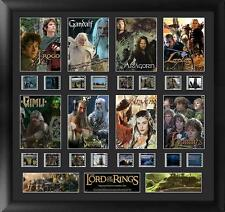 Lord of the Rings Large Character Film Cell Montage