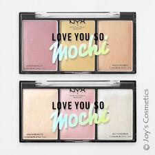 (1) Nyx Love You So Mochi iluminador paleta Lysmhp02 arcade glamour