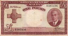 Malta World Banknotes