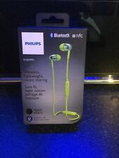 PHILIPS SHB5900GN Wireless Bluetooth In-ear Headphones Green