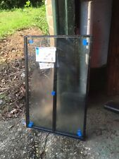 BLACK GEORGIAN BAR DOUBLE GLAZING SEALED UNIT - 656 X 436 OR MADE TO MEASURE
