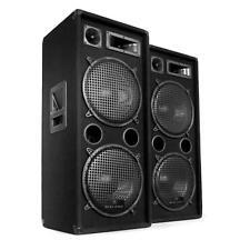 """OFERTA! ALTAVOCES MALONE PA DJ 3 VIAS 2x30,5CM (12"""") 2000W CLUB DISCO CONCIERTOS"""